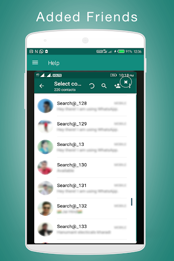 Unlimited Friends Search for WhatsApp 1.6 screenshots 6