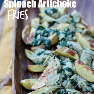 Low-Fat Spinach Artichoke Fries