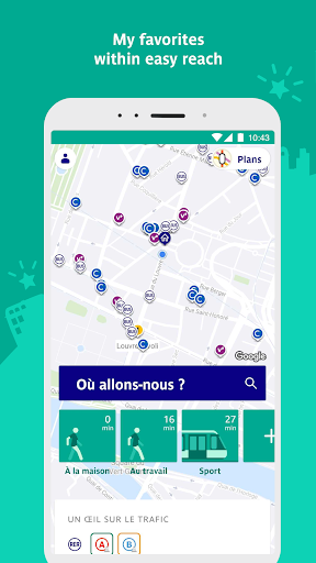 RATP - Your daily co-pilot 5.4.0 screenshots 1