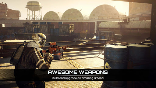 Afterpulse: action tps war game apktram screenshots 8