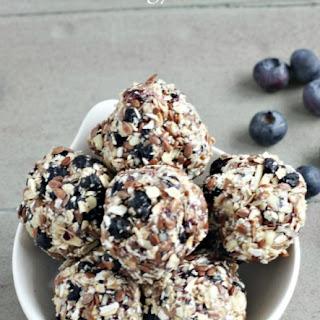 Blueberry & Lemon Energy Bites