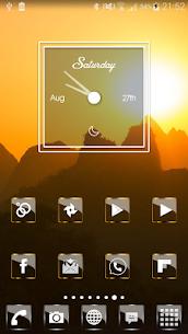 Golden Glass Nova Icon Pack v7.4 [Paid] APK 7