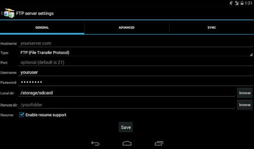 AndFTP screenshot 15