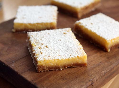 Lemon Squares Recipe