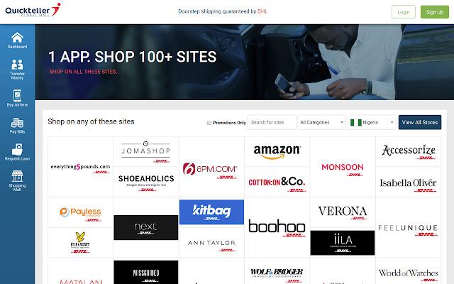 Quickteller Global mall App
