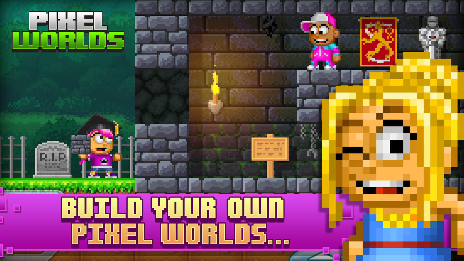 Pixel Worlds- screenshot