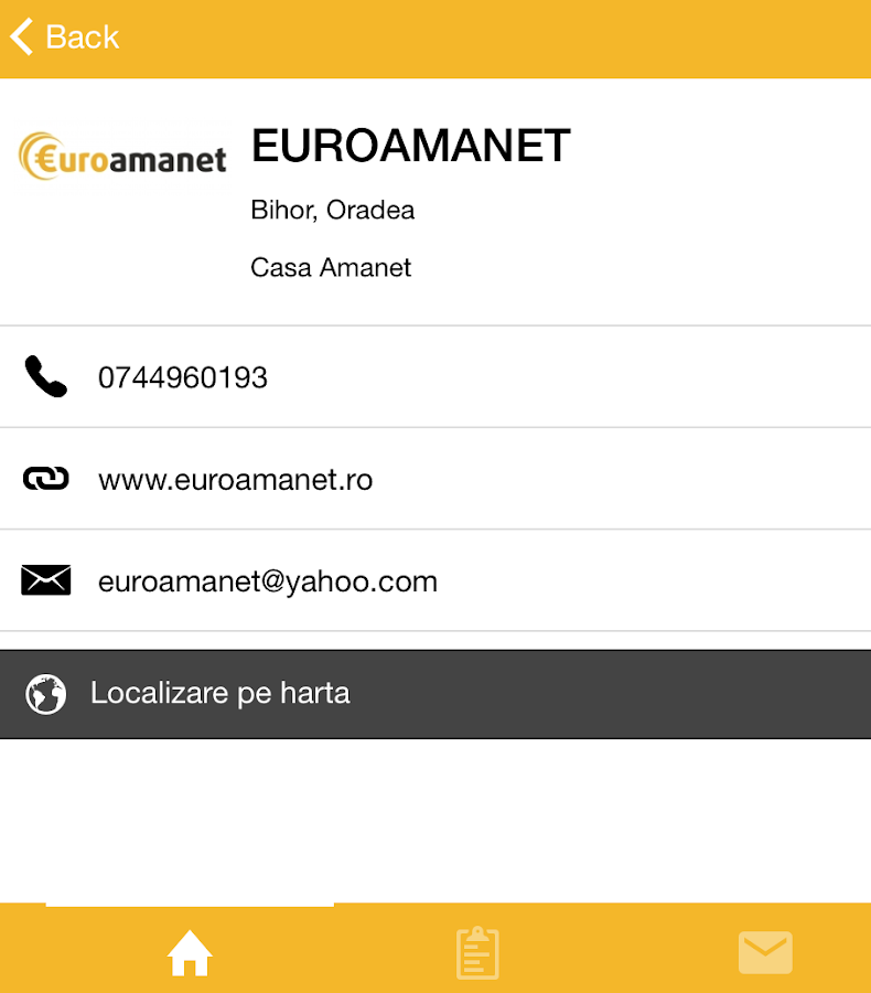 Case Amanet- screenshot