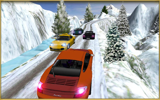 Drive Snow Taxi Legends SIM