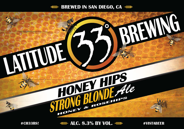 Logo of Latitude 33 Honey Hips Strong Blonde