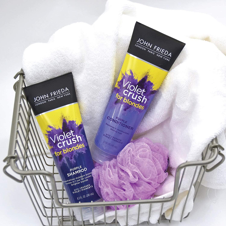Light Hair Don't Care With John Frieda Purple Shampoo And 3 Best Regimens