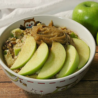 Caramel Apple Overnight Oats