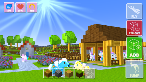 Pony Crafting - Unicorn World  screenshots 2
