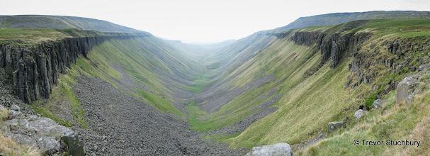 Photo: High Cup Nick Panorama, Cumbria
