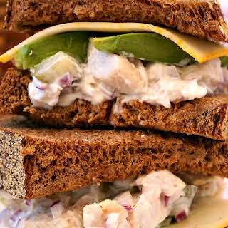 Easy Chicken Salad Sandwich.