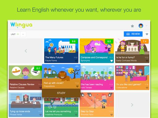 Advanced English with Wlingua screenshot 5