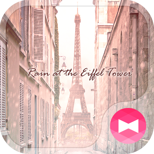 Theme Rain at the Eiffel Tower Icon