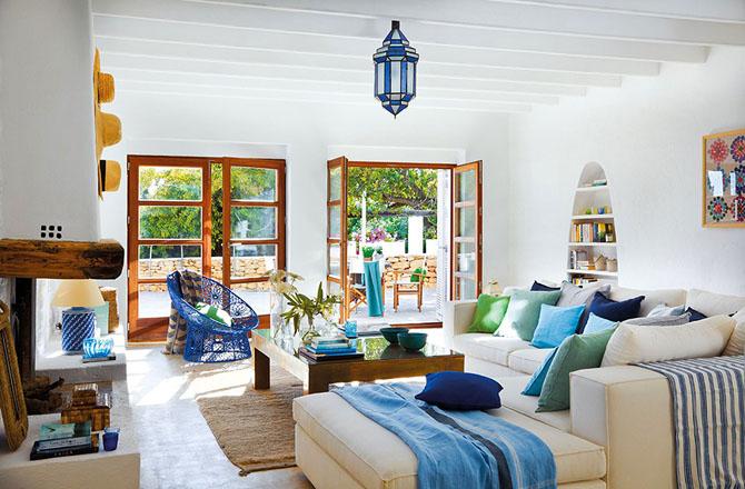 Dosis arquitectura casa de ibiza en el estilo mediterr neo - Muebles estilo mediterraneo ...