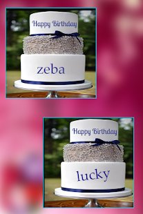 Name on Birthday Pics - náhled