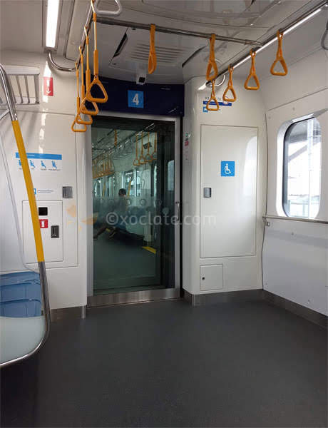 difabel area - MRT Jakarta