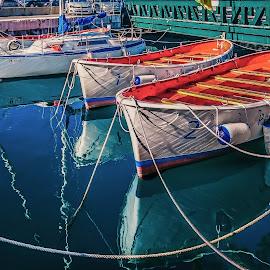 reflection by Eseker RI - Transportation Boats