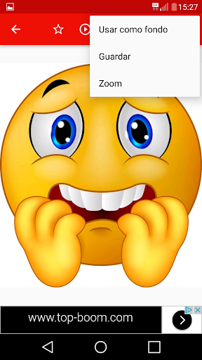 😂Emoji emoticons for whatsapp 3.6.2 screenshots 4