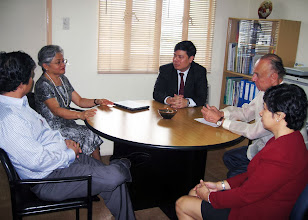 Photo: 22 August 2013 - Visit to the IAFEI Secretariat Office in Makati with Thanh Nguyen, Conchita Manabat, Bach Nguyen, Luis Ortiz-Hidalgo and Lynn Angeles