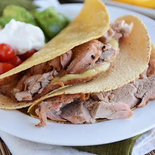 Grilled Mojo Pork Tenderloin Tacos.