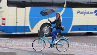 Photo: TRICK CYCLIST FROM HELSINKI .... AND ....