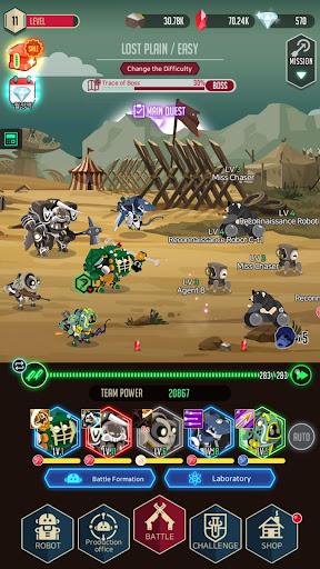 After War u2013 Idle Robot RPG  screenshots 7