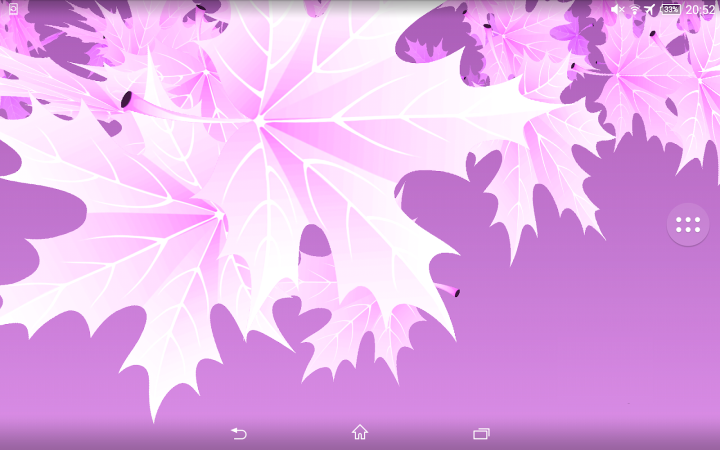 3D Maple Leaves Free- screenshot