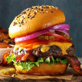BBQ Bacon Cheeseburger.