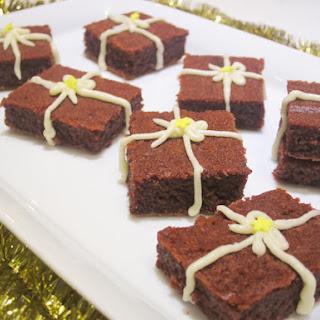 Beet Red Velvet Brownies
