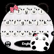 لطيف الباندا لوحة المفاتيح موضوع Cute Panda