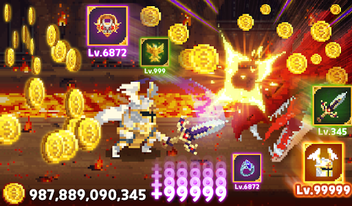 Mr.Kim - 8 bit idle heroes android2mod screenshots 13