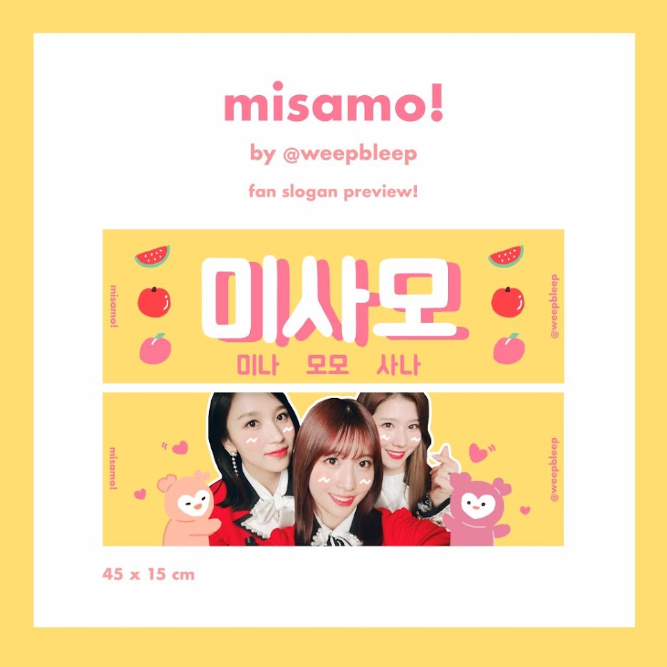 twice fan slogan