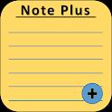 Note Plus icon