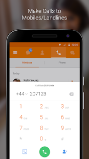 Nimbuzz Messenger / Free Calls- screenshot thumbnail
