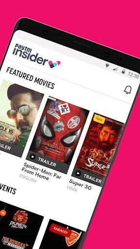 Paytm Insider: Movie Tickets, Events & Gameshows 4.3.1 screenshots 2