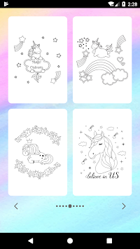 Unicorn Coloring Book APK screenshot thumbnail 10