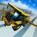 Flying Loader & Dump Truck 3D icon
