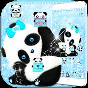 Blue Panda Cute Theme
