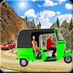 Tuk Tuk Rickshaw Off-Road Driver