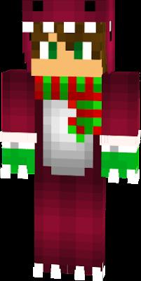 la skin de raptor para navidad