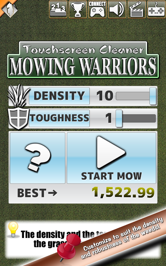 Mowing Warriors- screenshot