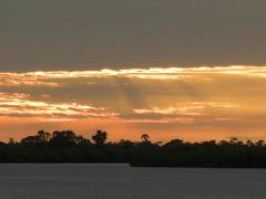 Siné Saloum : coucher de soleil