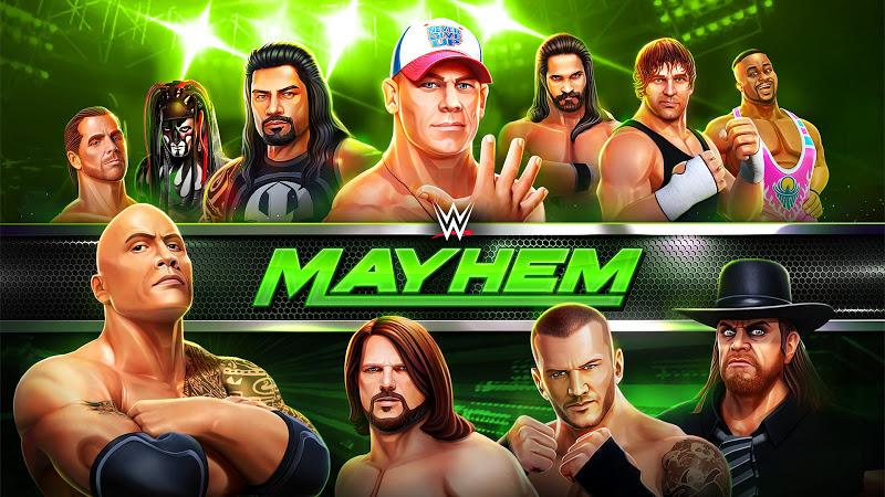 WWE MAYHEM VIP COMING SOON – APK MOD HACK – Dinheiro Infinito