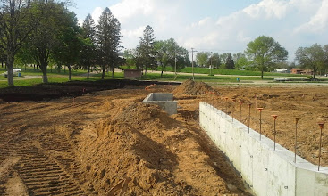 Photo: 3rd Base Dugout Foundation 05-20-2014
