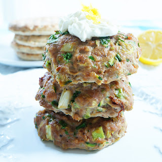 Zesty Zucchini Turkey Burgers Recipe