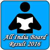 All India Board Result 2016