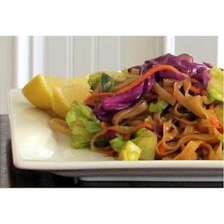 Thai Fried Rice Noodles.
